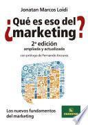 ¿Qué es eso del Marketing?