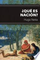 ¿Qué es nación?