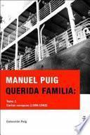 Querida familia: Cartas europeas (1956-1962)