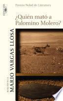 ¿Quién mató a Palomino Molero?