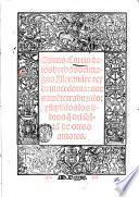 Quinto Curcio De los hechos del magno Alexandre rey de Macedonia: nueuamente traduzido ..