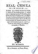 Real cedula de 8. de Julio de 1774. Para la recaudacion, y destino de las condenaciones, y multas que se impongan por los Tribunales, y Juzgados de Guerra del Exercito, y de Marina, y por los Jueces Ordinarios en las Causas de denuncias de Cavalleria del Reyno; nombramiento de Superintendente; y arreglo de Contaduria, para la cuenta, y razon de estos ramos, y de los Reos rematados à Presidio