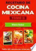 Recetario de Cocina Mexicana Tomo II