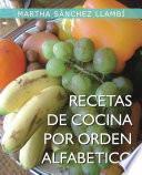 Recetas De Cocina Por Orden Alfabetico