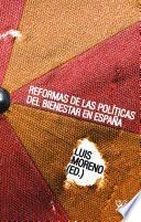 Reformas de las políticas del bienestar en España