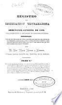 Registro de legislación ultramarina y ordenanza de 1803, para intendentes y empleados de Hacienda de Indias: En causa de Hacienda (1840. VII, 573 p.)