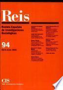 REIS - Abril/Junio 2001