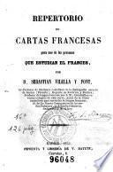 Repertorio de cartas francesas para uso de las personas que estudian el frances