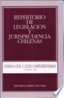 Repertorio de Legislación y Jurisprudencia Chilenas. Codigo civil Tomo III