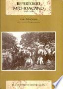 Repertorio michoacano 1889-1926