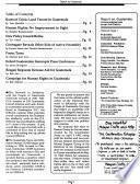 Report on Guatemala