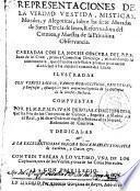 Representaciones... Morales y Alegóricas sobre las siete Moradas de Santa Teresa...