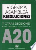 Resoluciones y otras decisiones