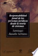 Responsabilidad penal de las personas jurídicas desde la teoría de sistemas