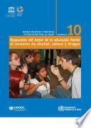 Respuestas del sector de la educación frente al consumo de alcohol, tabaco y drogas