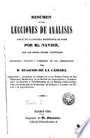 Resumen de las lecciones de análisis