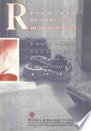 Resúmenes de proyectos de investigación financiados con cargo al programa sectorial general del conocimiento. Año 1995