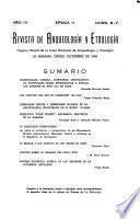 Revista de arqueología y etnología