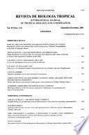 Revista de biología tropical