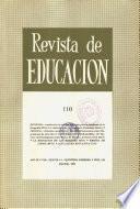 Revista de educación nº 110