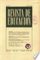 Revista de educación nº 191