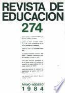 Revista de educación nº 274