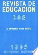 Revista de educación nº 308. La universidad de los noventa