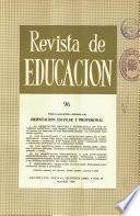 Revista de educación nº 96