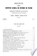 Revista de estudios de teatro