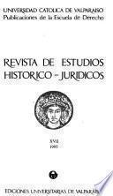 Revista de estudios histórico-jurídicos