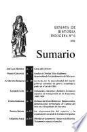 Revista de historia indígena