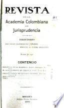 Revista de la Academia Colombiana de Jurisprudencia