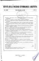 Revista de la Sociedad Entomológica Argentina