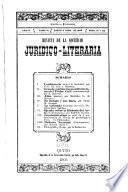 Revista de la Sociedad juridico-literaria