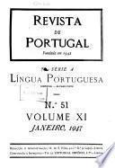 Revista de Portugal. Ser.A. Lingua portuguesa