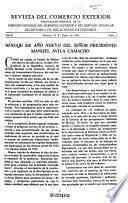 Revista del Comercio Exterior