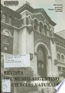 Revista del Museo Argentino de Ciencias Naturales