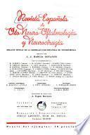 Revista española de oto-neuro-oftalmología y neurocirugía