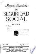 Revista Española de Seguridad Social