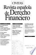 Revista espa̋nola de derecho financiero