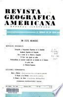 Revista geográfica americana