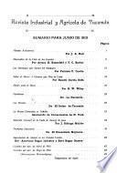 Revista industrial y agrícola de Tucumán