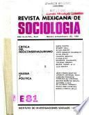 Revista mexicana de sociología