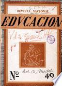Revista nacional de educación nº 49