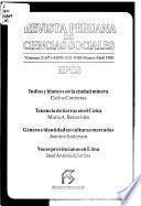 Revista peruana de ciencias sociales