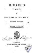 Ricardo y Sofía, ó, Los yerros del amor