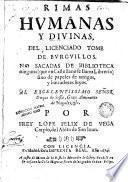 Rimas humanas y divinas