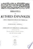 Romancero general, o, Colección de romances castellanos anteriores al siglo XVIII