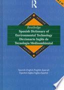 Routledge Diccionario Inglés Di Tecnología Medioambiental