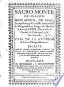 Sacro monte de Aragon